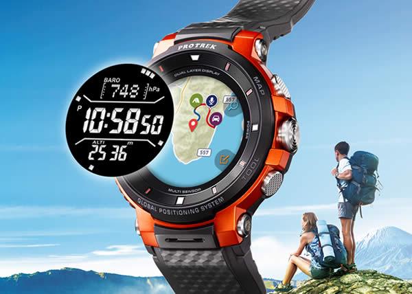 Casio Pro Trek lancia il suo nuovo smartwatch WSD-F30 all'IFA di Berlino