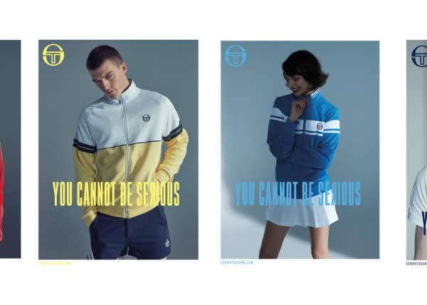 You Cannot Be Serious! la nuova campagna ADV di Sergio Tacchini FW19