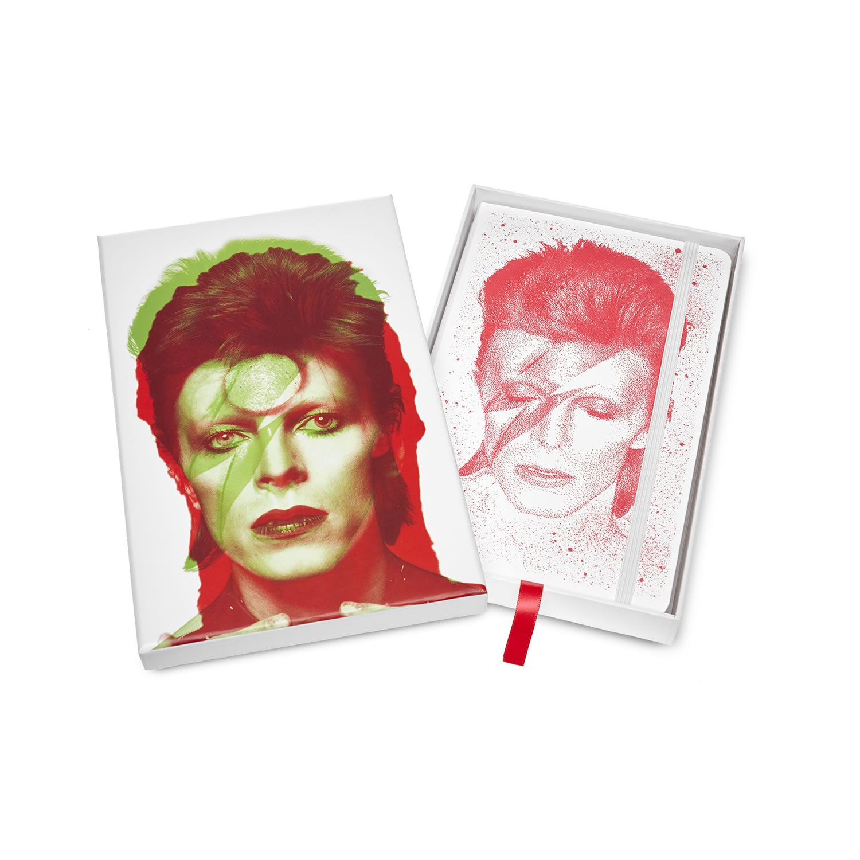 Moleskine celebra David Bowie