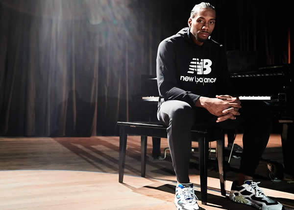 "New Balance introduce la nuova campagna ""We Got Now"" con un video che vede protagonista il due volte campione NBA Kawhi Leonard"