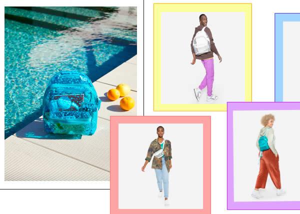 EASTPAK presenta la linea di accessori perfetti per l'estate tra giochi di colori e trasparenze