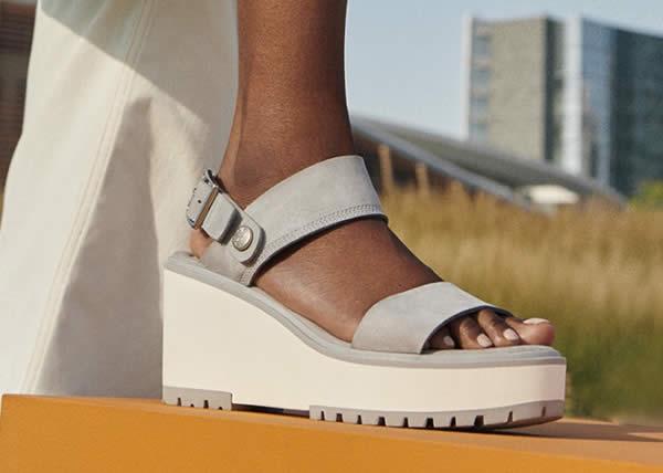 Timberland presenta la nuova linea di sandali per la collezione donna 2020
