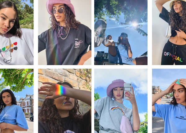 Boohoo svela la Pride collection Love is for everyone