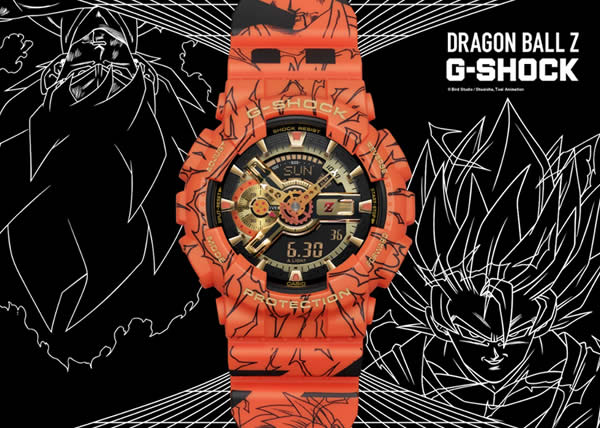 G-SHOCK presenta i due collaboration model con Dragon Ball Z e One Piece