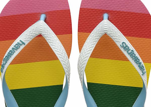 Havaianas lancia la sua prima collezione globale dedicata al Pride
