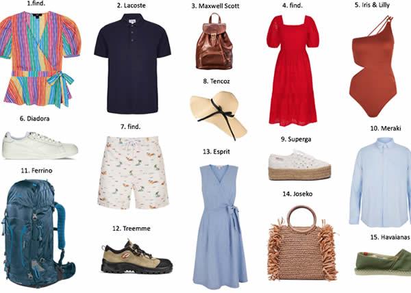 Amazon Fashion presenta vacanze in Italia quattro selezioni moda per viaggiare alla scoperta del nostro paese