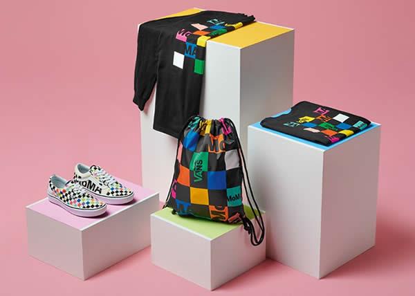 Vans lancia una collezione di scarpe e abbigliamento con MOMA per celebrare il museo e le opere dei suoi artisti più famosi.