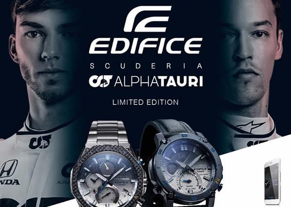 Casio presenta i nuovi orologi EDIFICE nati dalla collaborazione con la Scuderia AlphaTauri