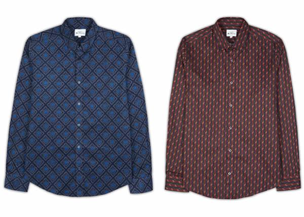 Ben Sherman accoglie l'autunno con una collezione di camicie print