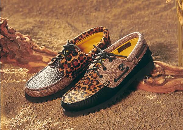 Timberland collabora con Chinatown Market per reinventare l'iconica boat shoe