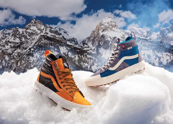 Ecco la collezione per la montagna Vans All-Weather MTE