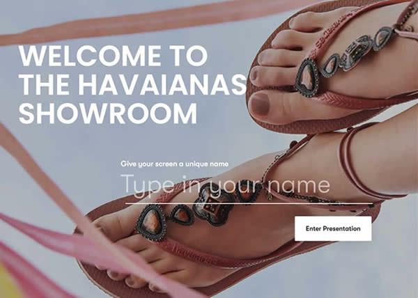 Havaianas primo cliente del Digital Showroom di Hatch PVH