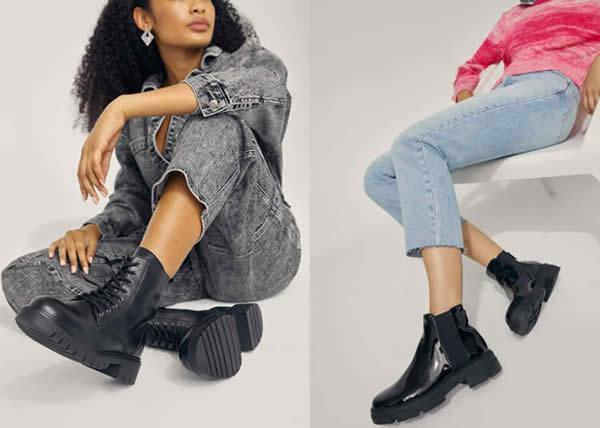 ALDO: la proposta di stivali total black per affrontare l'autunno con stile