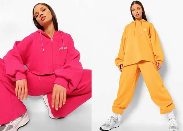 Boohoo: l'homewear non è mai stato così colorato