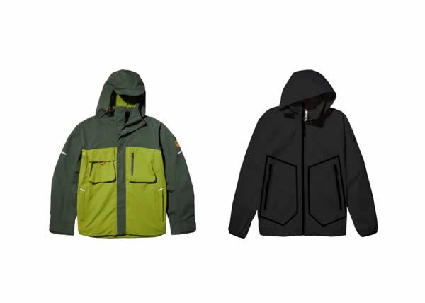 Timberland Rainy Days_giacche da uomo impermeabili con tessuto riciclato ReBOTL