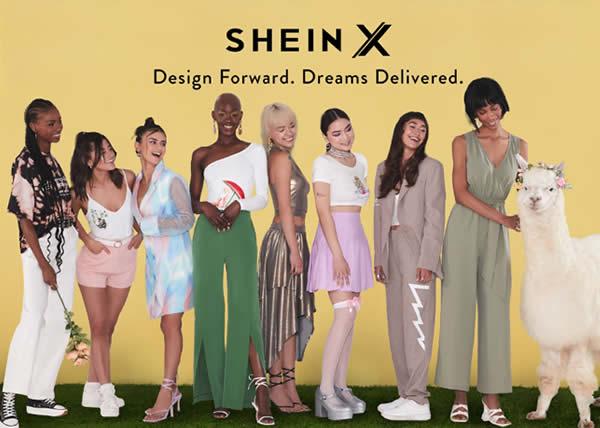 Shein supporta i designer emergenti e lancia la piattaforma SHEIN X