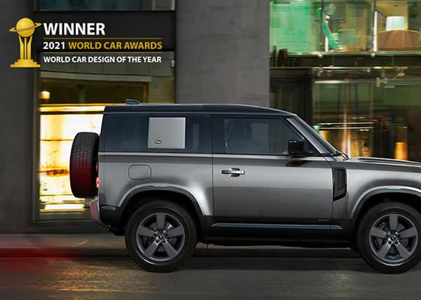 Land Rover Defender incoronata World Car Design ai World Car Awards 2021