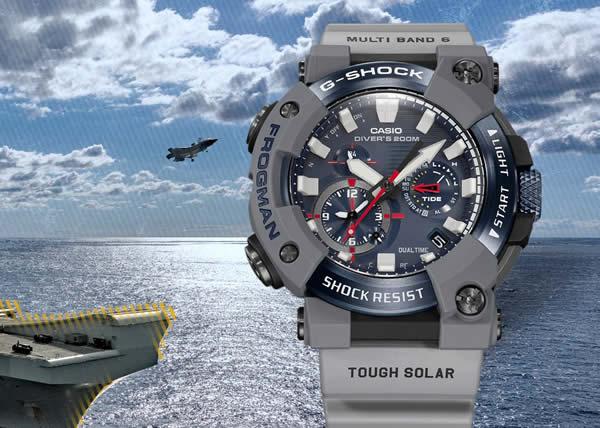 G-SHOCK presenta il nuovo orologio FROGMAN in limited edition per la Royal Navy britannica
