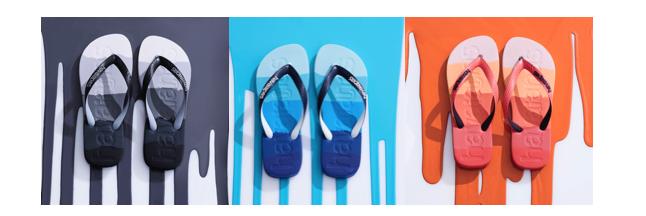 Havaianas presenta le nuove Logomania Multicolor_un modello maschile per un'estate all'insegna del colore