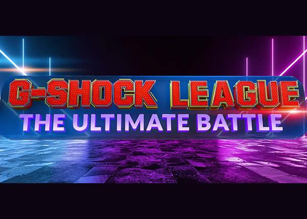 G-SHOCK presenta il torneo di E-Sport 'G-SHOCK LEAGUE – THE ULTIMATE BATTLE'