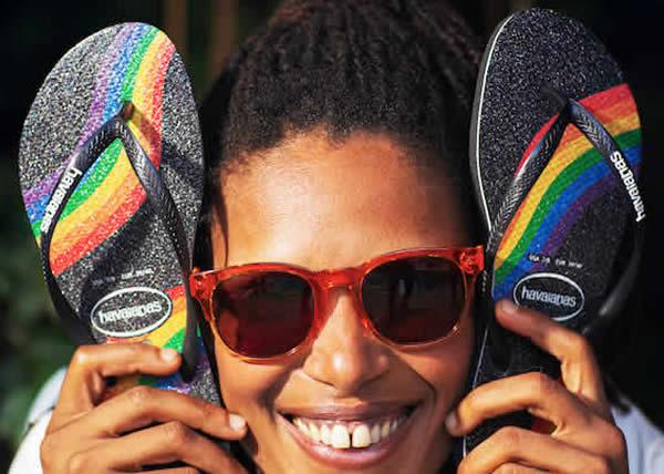 Havaianas celebra l'amore con una nuova collezione Pride
