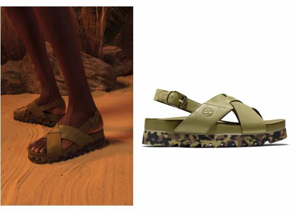 Timberland presenta i nuovi sandali Santa Monica Sunrise_un modello caratterizzato da comfort ed ecoresponsabilità