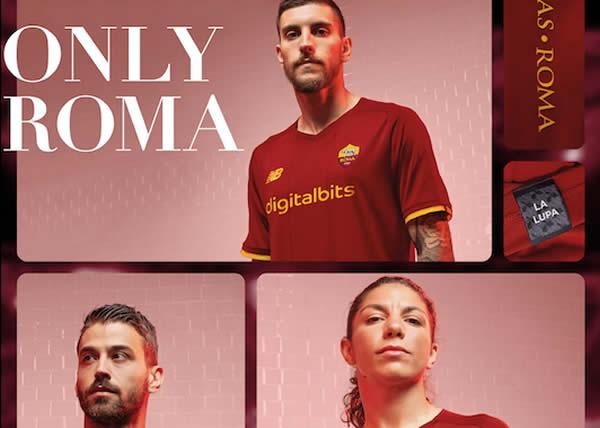 New Balance svela l Home Kit AS Roma 21_22