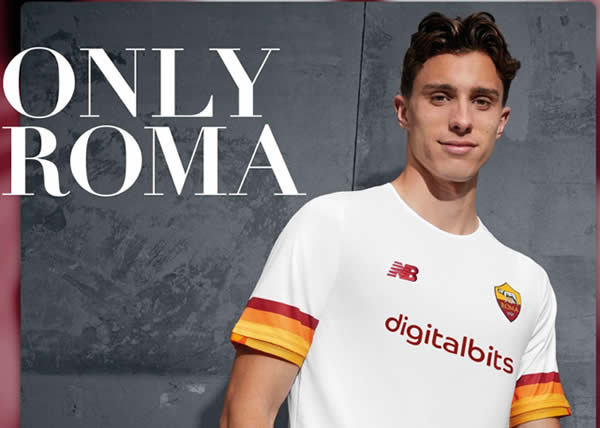 New Balance svela l'Away Kit AS Roma 21/22
